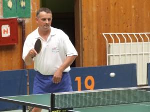 Prehral vo finále v Šabci: stolný tenista STK Mladosť Pavel Turan (Foto: J. Pucovský)