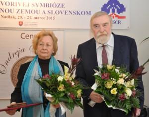 Laureáti Anna Divičanová a Samuel Boldocký