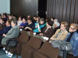 Na výročnom a volebnom zhromaždení ASSŽ v Petrovci (foto: K. Gažová)
