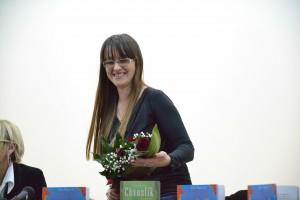 Mladá spisovateľka Anna Kukučková
