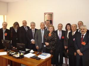Výbor asociácie v Prezidentskom paláci v Baábde