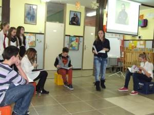 Vyššie slovenské triedy zahrali príbeh oĽudovítovi Štúrovi
