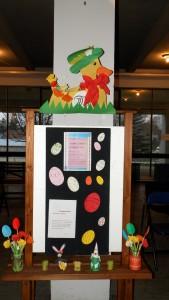 Sprievodnou akciou programu bola výstava Jarný úsmev k Veľkej noci
