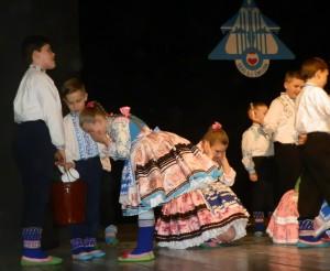 Oblievačky v podaní pazovských malých tanečníkov