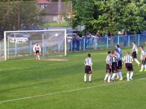 Strela domácich na bránu mužstva Budućnost tentoraz nepriniesla gól