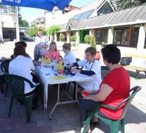 Akcia zdravotných sestier na námestí v Starej Pazove
