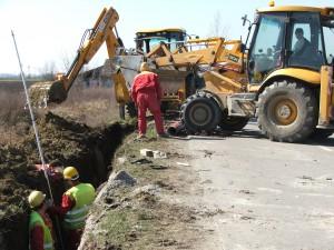 Výstavba tranzitného kanalizačného potrubia medzi Kysáčom a Rumenkou