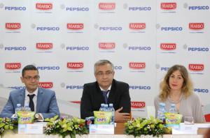 Thomas Nikolaos, Michail Orfanoudakis a Tatjana Mitrovićová ozrejmili 20 rokov hospodárenia (foto: www.pepsico.com)