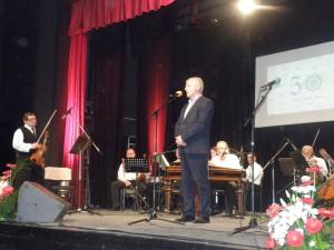 Jubilejný festival otvoril podpredseda pokrajinskej vlády Miroslav Vasin