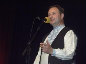 Boris Babík spieval v revuálnej časti záverečného koncertu
