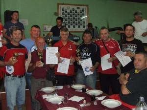 Predstavitelia klubov s odmenami