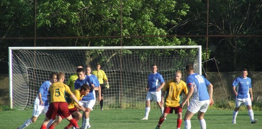 SLÁVIA – KRIVÁŇ 1 : 0 (1 : 0), 10. 5. 2015 – Foto: Juraj Pucovský