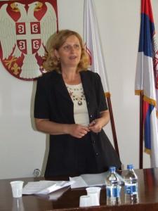 Zuzana Đukićová, nová predsedníčka Zhromaždenia obce Alibunár