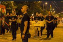 """Včera pred slovenskou ambasádou v Budapešti: """"Slovensko, nenávidíme ťa!"""""""