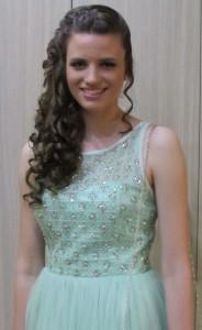 Anabela Stošićová, žiačka generácie (foto z rodinného albumu)