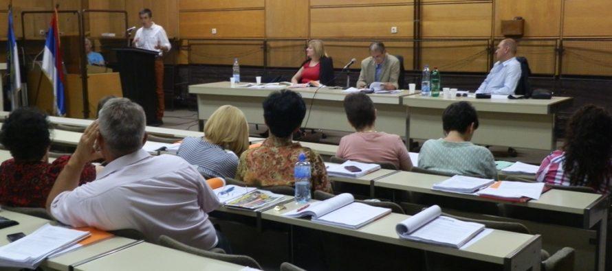 Sa sednice staropazovačkog lokalnog parlamenta