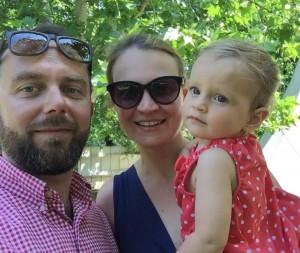Šťastná rodina: S dcérou Marínou a manželom Marekom