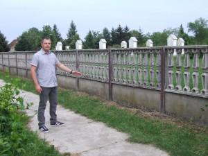 """""""Prvú fázu kanalizácie vybudujeme po kalváriu,"""" povedal Zdenko Kolár, zástupca predsedu Obce Báč."""