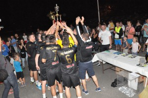 Radosť zo získaných trofejí
