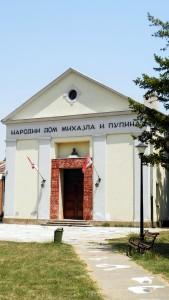 Národný dom Mihajla Pupina v Idvore