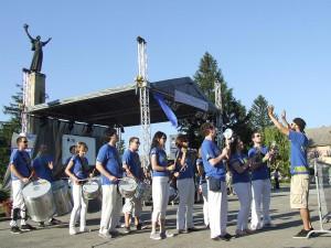 Koncert orchestra Sambansa samba v Srbobrane