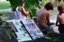Pod korunami stromov na Štrande – médiá, umenie a šport