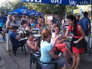 Momentka z vlaňajšieho podujatia Pod korunami stromov na Štrande (foto: Heror Media Pont)