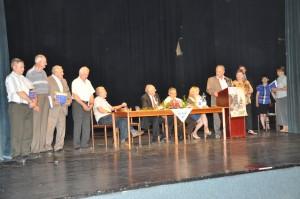 Poďakovanie ocenených nových čestných členov Matice (Foto: J. Čiep)