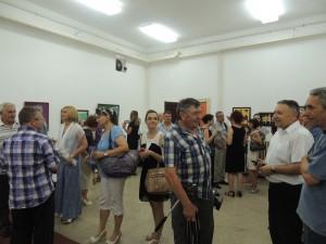 Spoločenská udalosť Slovenských národných slávností plná ľudí
