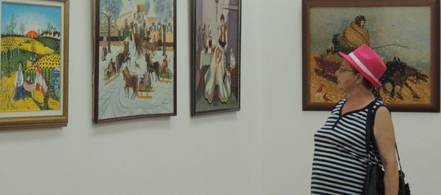VÝSTAVA KOVAČICKEJ INSITY:  Cárska rezidencia umenia