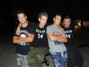 Rock vpodaní kapely Punkenstein (Foto: M. Necpálová)