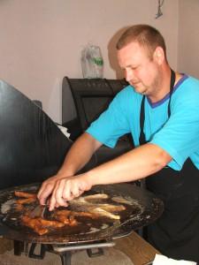 Miloslav Ožvát pražil rybu na predaj