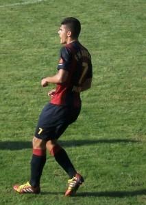 Strelec druhého gólu pre Dolinu Marko Labović