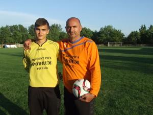 Syn vystriedal otca: Julián a Vladimír Čobrdovci (zľava)