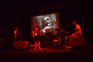Fantastični psychodellic band Pridjevi (Foto: I. Bovđiš)