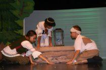 Detské divadelné predstavenie zaujalo pozornosť malých milovníkov Tálie