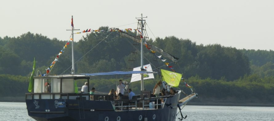 Pazovská regata sa plaví Dunajom a Sávou na počesť Aleksandra Berića