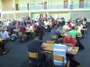 Šachisti - prvé lastovičky Slávností (foto: J. Pucovský)