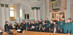 Z koncertu martinského zboru v petrovskom kostole