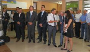 Hostia a hostitelia si na uvítanie s pôžitkom pozreli príležitostný program