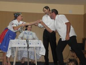 Stretnutie rozveselili aj divadelné scénky