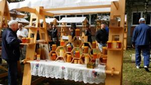 Stánky plné sladkostí z medu lákali malých a veľkých návštevníkov
