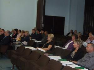 Výborníci Zhromaždenia Obce B. Petrovec na viachodinovom septembrovom zasadnutí  (Foto: K. Gažová)