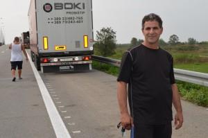Päť dní čakám, aby som sa dostal do Nemecka - povedal Ilija Saramandov z Macedónska.