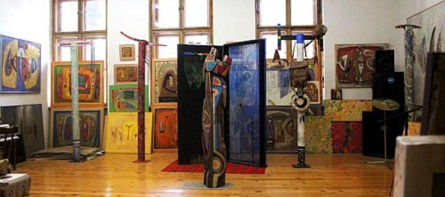 Pavel Pop v sobotu vystavuje v Čurugu