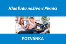 Hlas ľudu naživo v Pivnici