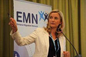 Expertka IOM vo Viedni Livia Styp-Rekowska