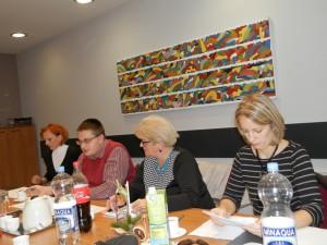 Zábery z 3. schôdze Výboru pre úradné používanie jazyka a písma