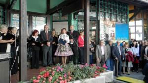 Výstavu obrazov autora Jána Bačúra slávnostne otvorili: Miodrag Maticki, podpredseda Matice srbskej a Pavel Baláž, podpredseda Matice slovenskej v Srbsku.