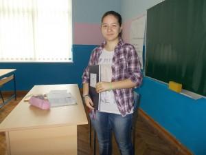 Siedmačka Sara Hučková sa vyskúšala v úlohe profesorky slovenčiny (Foto: Dijana Jonášová)